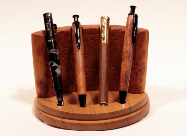 Präsentationsständer für vier Schreibgeräte